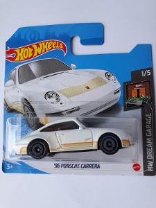 HOTWHEELS PORSCHE 911 CARRERA  1996 1/5 SERIE DREAM GARAGE