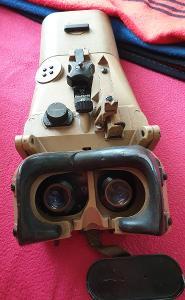 Válečný dalekohled ww2 nacistický blc 12x60 Flak č.4