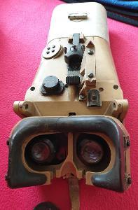 Válečný dalekohled ww2 nacistický blc 12x60 Flak č.9