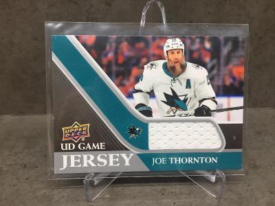 Joe Thornton UD Game Jersey