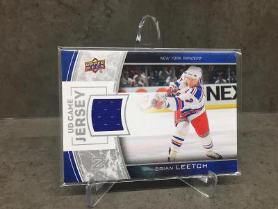 Brian Leetch UD Game Jersey