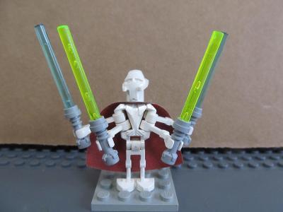 Lego figurka minifigurka Star Wars Sith General Grievous starší verze