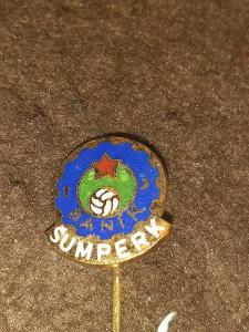 Odznak TJ Baník Šumperk