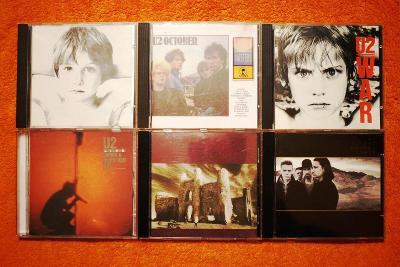 U2 - Kompletní diskografie na CD