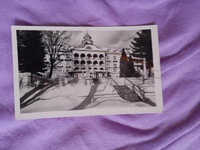 Pohlednice Lázně Jeseník,prošlé poštou
