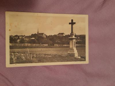 Pohlednice Tvarožná u Brna,prošlé poštou