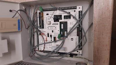 EKV - systém elektronické kontroly vstupu Northern (Honeywell)