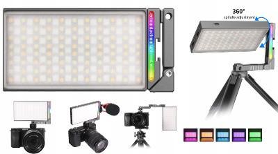 LED lampa 5000 mAh 360s rotace - Ulanzi R70 RGB