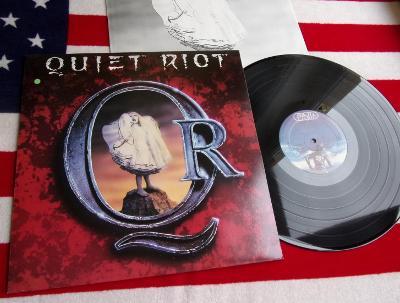 💥 LP: QUIET RIOT - QUIET RIOT, deska jako nová MINT!, 1.press NL 1988