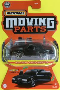 1988 Chevy Monte Carlo LS - Matchbox moving parts 12/20 (MB4-5)