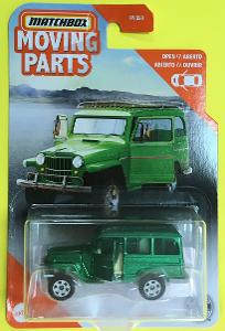 1962 Jeep Willys Wagon - Matchbox moving parts (MB5-5)
