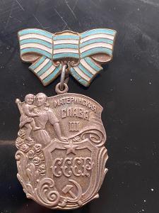 Medaile rad materstvi 3 tr ag Ruska