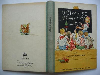 Učíme se německy - 2. díl - Margita Holdošová - SPN 1961