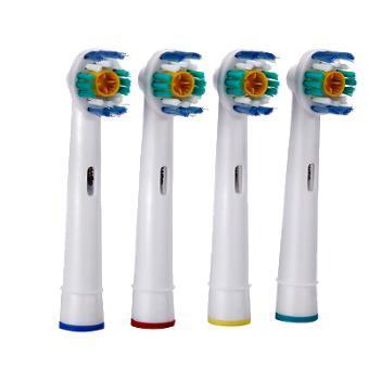 Náhradní hlavice na elek. kartáčky Oral-B EB18 3D White - 4 ks