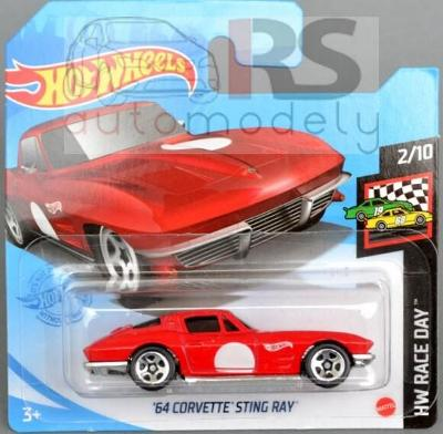 Hot Wheels Chevrolet Corvette Sting Ray - poštovné v popise!