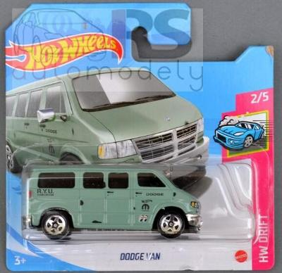 Hot Wheels Dodge Van - poštovné v popise!