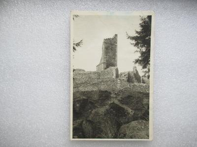 Zřícenina hradu Orlíka u Humpolce - německy - MF