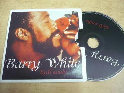 CD BARRY WHITE / Král soulu