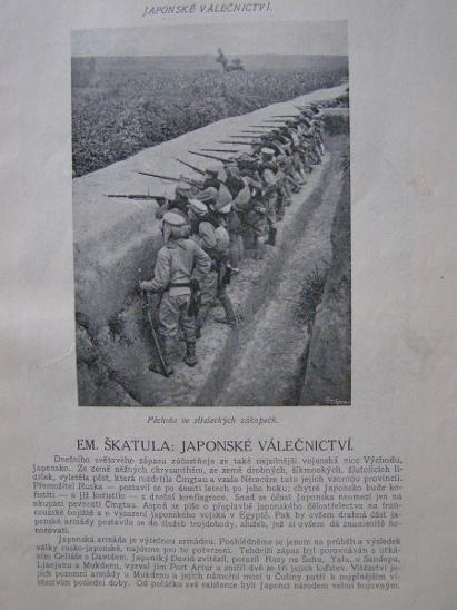 Světozor 1914 německá stráž / JAPONSKÉ VÁLEČNICTVÍ/ bombardování Soiss - Vojenské