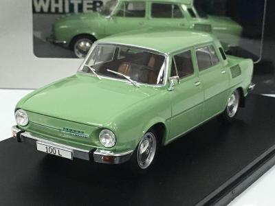 Škoda 100 L zelená  - WhiteBox 1/24 - NOVINKA
