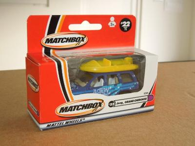 MATCHBOX 2000 - JEEP GRAND CHEROKEE Nr.22