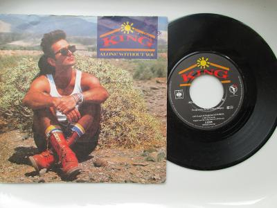 SP DESKA - KING - ALONE WITHOUT YOU 1985