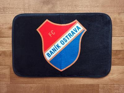 Koupelnová předložka FC BANÍK OSTRAVA 60x40cm-SLAVIA,SPARTA,BOHEMIANS