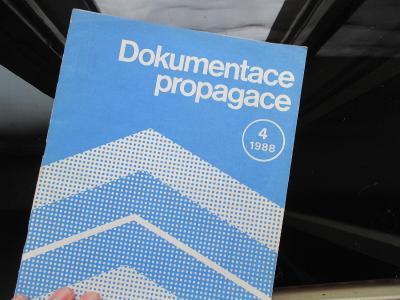 DOKUMENTACE PROPAGACE - REKLAMA, DESIGN - 4/1988
