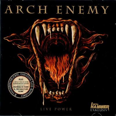 Arch Enemy - Live Power CD Promo Metal Hammer