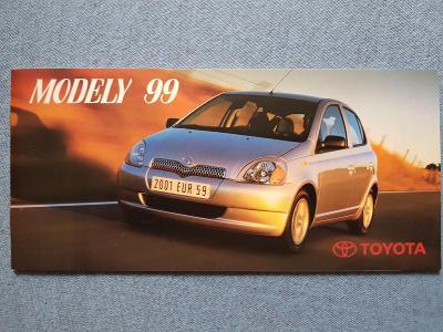 Prospekt  MODELY 1999 - TOYOTA