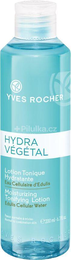 Micelární voda/tonikum YVES ROCHER Hydra végétal, nové, 200ml - Ošetřující kosmetika