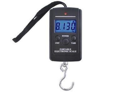 NOVÁ závěsná digitální váha - univerzální max 40kg + ZARUKA + DAREK