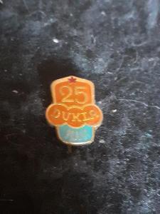 Odznak Dukla Praha, výroční  25 let