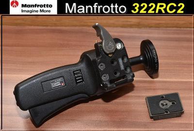 💥 Kulová hlava s rukojetí: Manfrotto 322RC2**Nosnost: 5kg**TOP👍