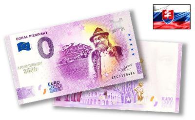 SK126A ● Euro Souvenir ● GORAL PIENINSKÝ [2021] ANNIVERSARY