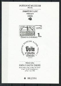 ČR - PTM 5b - příloha knihy Pošta v ghettu Terezín