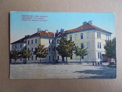 Československo Podkarpatská Rus Užhorod armáda kasárna Finanční strráž
