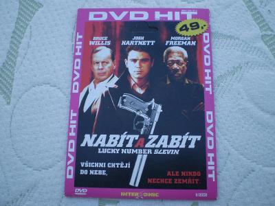 Nabít a zabít, DVD,thriller s hvězdným obsazením-B.Willis, M.Freeman..