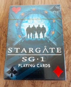 Hrací karty Stargate SG1