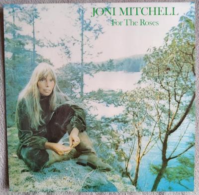 LP JONI MITCHELL - FOR THE ROSES (1974) GER.Press NM- JAKO NOVÁ!