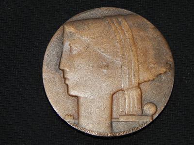 Medaile - ústřední výbor národní fronty 1968