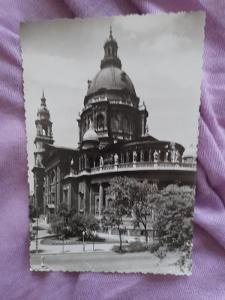 Pohlednice Budapešť - Bazilika,prošlé poštou