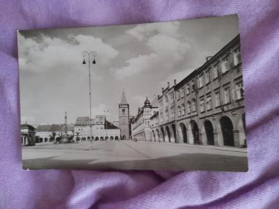 Pohlednice Jičín,prošlé poštou