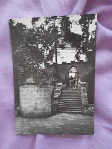 Pohlednice ČESKÝ RÁJ - hrad Valdštejn u Turnova,prošlé poštou