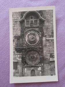 Pohlednice Praha:Orloj,prošlé poštou