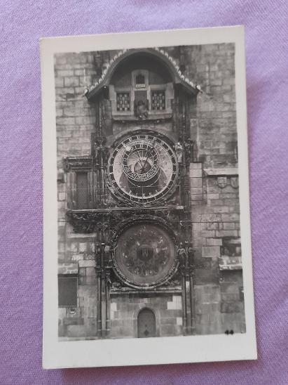 Pohlednice Praha:Orloj,prošlé poštou  - Pohlednice