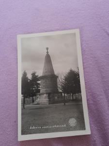 Pohlednice Přibyslav - ŽIŽKOVA MOHYLA,neprošlé poštou