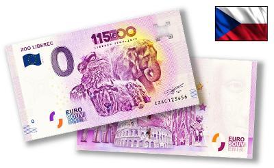 CZ002 ● Euro Souvenir ● ZOO LIBEREC [2019]
