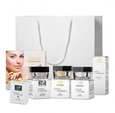 Balíček Beauty  Sada čtyř výrobků v bílé dárkové tašce