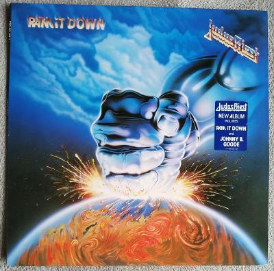 LP JUDAS PRIEST - RAM IT DOWN (1988) 1.HOLL Press NM- JAKO NOVÉ! TOP!